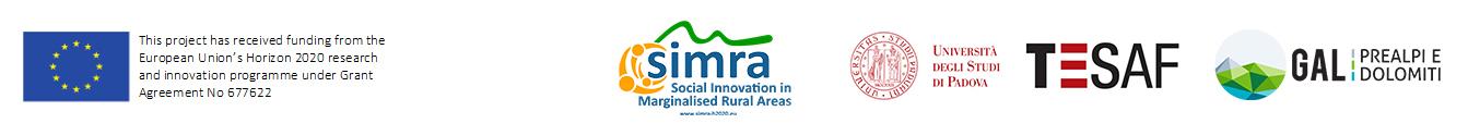 Social innovation in marginal rural areas SIMRA LOGHI
