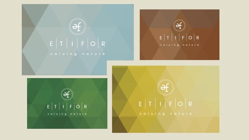 Etifor loghi colorati